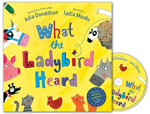 What the Ladybird Heard Book and CD Pack: Amazon.es: Donaldson ...