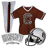 Franklin Sports NCAA South Carolina Gamecocks Kids College Football Uniform Set - Youth Uniform Set - Includes Jersey, Helmet, Pants - Youth Small