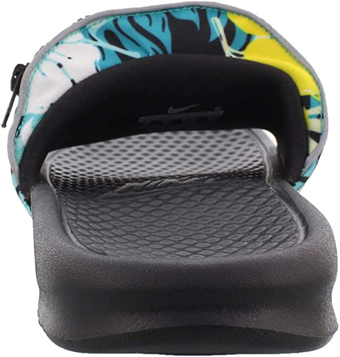 Chanclas Nike Benassi JDI Fanny Pack Print Turquesa 45: Amazon.es: Zapatos y complementos