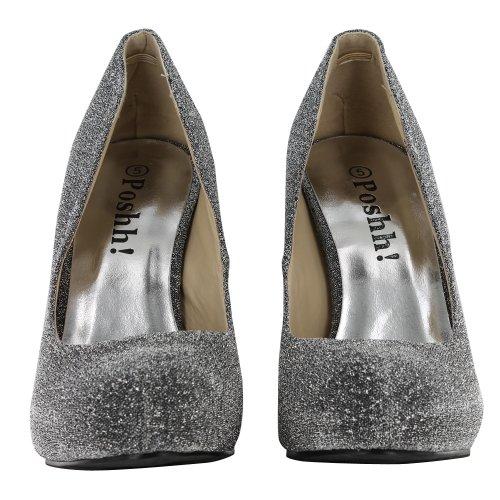 Footwear Sensation - Sandalias de vestir para mujer Plata - plata