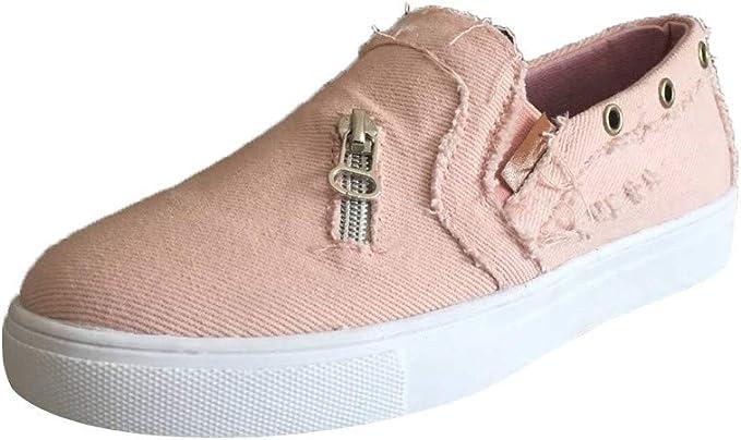 Zapatos Mujer,VECDY2019 Moda Zapatillas Zapatos De Guisantes para ...