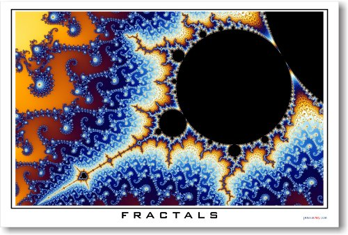 Fractals #3 - NEW Math and Science Poster