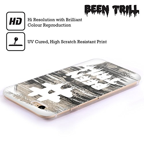 Official Been Trill Japanese Mask Glitch Soft Gel Case for Apple iPhone 6 Plus / 6s Plus