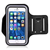 VersionTech Sweatproof Sporty Sport Armband + Key Holder + Screen Protector For For Workouts, Running, Cycling, Any Fitness Activity Outside or in the Gym Gymnasium For Apple iPhone 5 5S 5C 4 4S