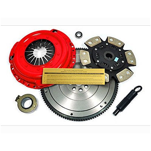 EFT RACING STAGE 3 CLUTCH KIT+FLYWHEEL 3000GT SL STEALTH ES R/T 3.0L NON-TURBO (Mitsubishi 3000gt Clutch Kit)