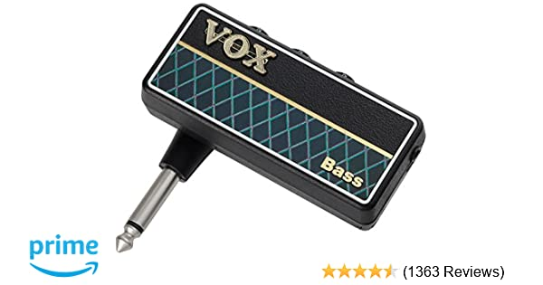 Amazon Com Vox Apbs Amplug Bass G Guitar Headphone Amp Vox Musical Instruments