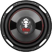 BOSS Audio P100F 1200 Watt, 10 Inch, Single 4 Ohm Voice Coil Car Subwoofer