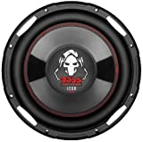 BOSS Audio P100F 1200 Watt, 10 Inch, Single 4 Ohm Voice Coil, Shallow Mount   Car Subwoofer