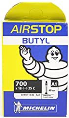 The AirStop has a butyl construction that holds air better than standard tubes and is more resistant to punctures..9mm thick butyl construction for reliable performance in all applications.9mm thick butyl construction for reliable performance...