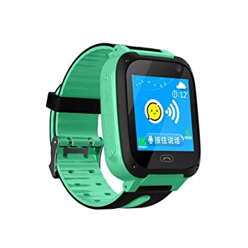 Kaimus Reloj inteligente a prueba de agua, teléfono, teléfono, rastreador SOS, llamada con cámara Relojes de pulsera