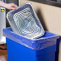 COMFY PACKAGE [HEAVY-DUTY] Aluminum Foil Steam Table Pans, Half Size Deep, 9x13 Pans (30 Pack)