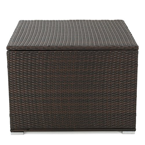 Samoa Multibrown Wicker Storage Box by GDF Studio