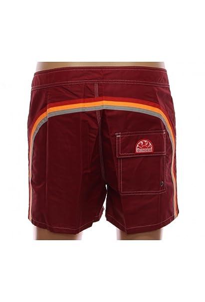 7783517ded7f Sundek costume boxer mare uomo bordeaux 422: Amazon.it: Abbigliamento