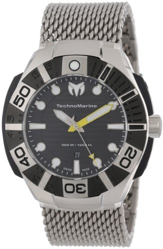 TechnoMarine Men's 513004 Black Reef Watch