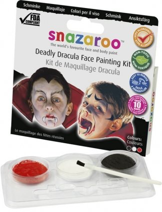 painting Dracula for adults face