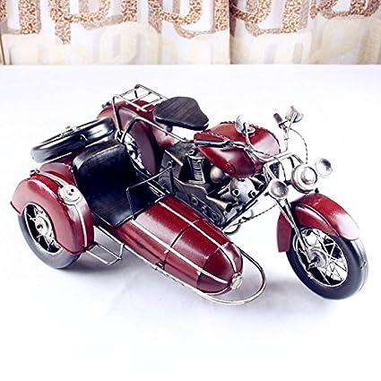 WSS Vieja Hierro Guerra Mundial BMW dreirädrigen lado carro moto modelo metal Artesanía creativos regalos regalo