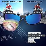 RIVBOS Polarized Sports Sunglasses Driving shades