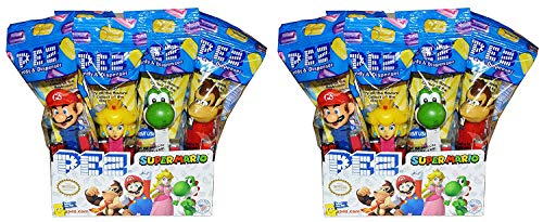 Pez Nintendo Super Mario Dispensers (24