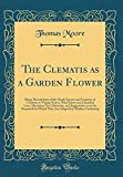 Amazon / Forgotten Books: The Clematis as a Garden Flower Being Descriptions of the Hardy Species and Varieties of Clematis or Virgins Bower, with Select and Classified Lists, . for Which They Are Adapted in Modern Gard (Thomas Moore MD)
