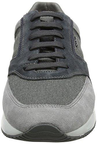 Homme Bleu Stone Basses Grey Sneakers Dennie Geox Gris Dk U A PSxC11qX