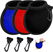 Golf Ball Cleaner Pouch - Portable Pocket Golf Ball Washer Golf Ball Cleaner Pouch, Pocket Ball Washer with Cl