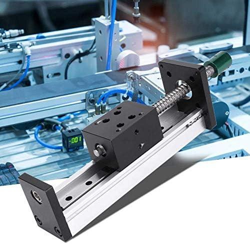 LZP-PP Linearführungsschiene, Aluminium-Legierung Linearführungsschiene Slide Kugelgewinde Bewegung Tabelle mit 500mm Effektives Travel (1204)