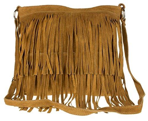 Bandolera Mujer Marrón Girly Handbags Daniela Tan Bolso Pw6ZtHxq