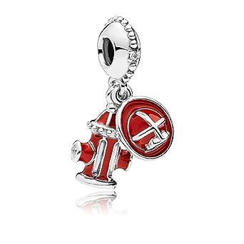 1adc7713c Amazon.com: Pandora Firefighter Essentials Dangle Charm 797632ENMX ...