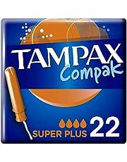 Tampax - Compak Super Plus Tampons met Applicator - 22 Stuks