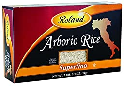 Roland Foods Arborio Rice, Superfino, 35.3 Ounce (Pack of 5)