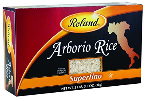 Roland Foods Arborio Rice, Superfino, 2 Pound And 3.3 Ounce (Pack Of 5)