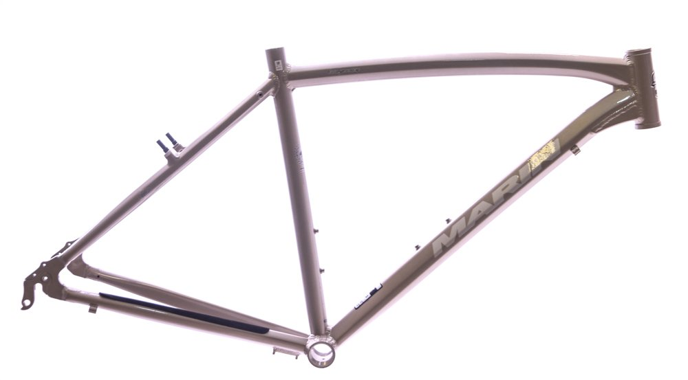 15'' Marin Bridgeway 700c Aluminum Comfort / Hybrid Bike Frame Brown Sand NEW