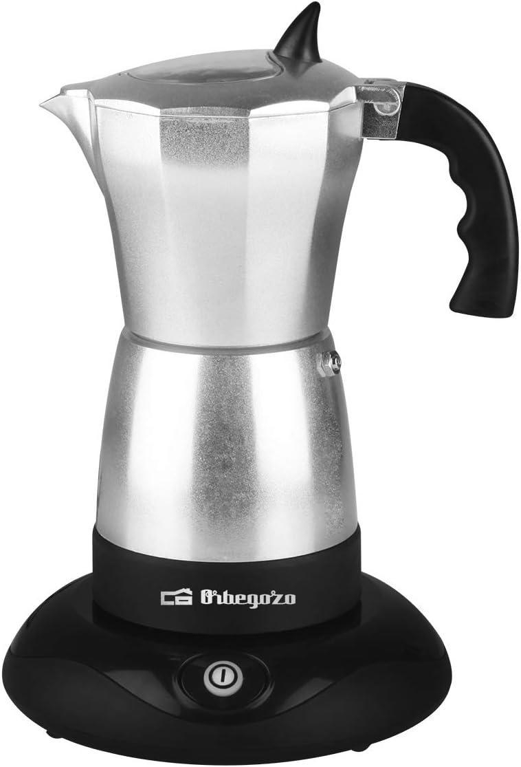 Cafetera italiana elec. ORBEGOZO KFE660 | ORBEGOZO 3 - 6 tazas ...