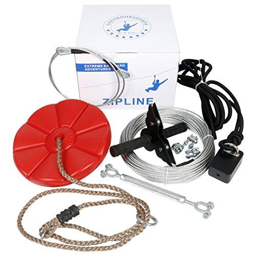 zip line harness kit - 1