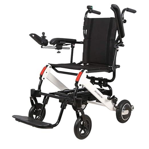 ACZZ Silla de ruedas portátil plegable, silla de ruedas ...