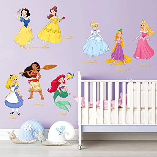 baby products, nursery, décor, wall décor,  stickers 9 on sale decalmile Princess Wall Stickers Girls Wall Decals Baby deals
