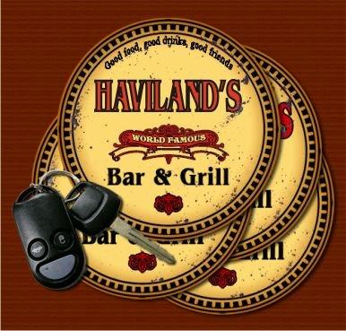 Haviland Coasters (HAVILAND'S World Famous Bar & Grill Coasters - Set of)