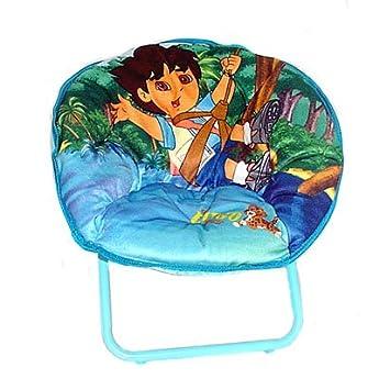 Amazon.com: Nickelodeon Go Diego Go. Mini platillo silla: Baby