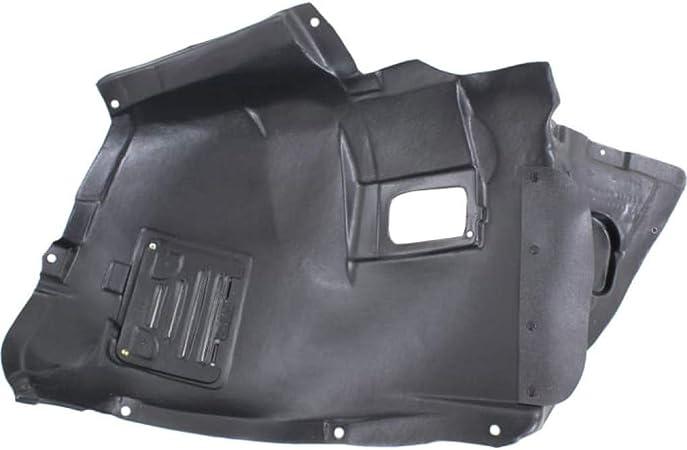 Splash Shield Front Right Side Fender Liner Plastic Front Section Sedan for 3-SERIES 09-11 2.5L Eng Sedan