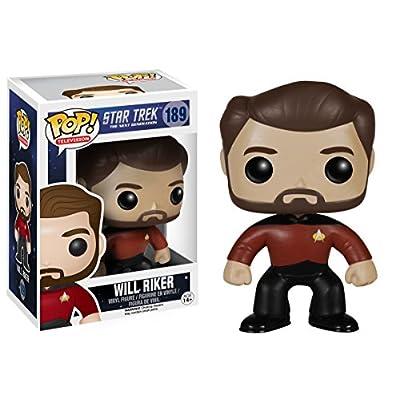 Funko POP TV: Star Trek The Next Generation - Will Riker Action Figure: Funko Pop! Television:: Toys & Games