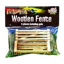 Van Manen 610667 Kids Globe By Toysworld - Wooden Fence (6 Pieces) 1:32