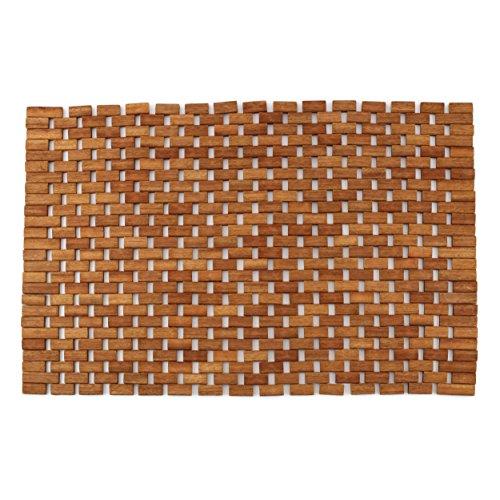 Cheap  Teak Non Slip Bath Mat, Mold Resistant Bath Mat, Foldable Indoor/Outdoor Teak..