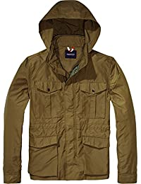 Scotch & Soda Men's Military Jacket