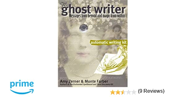 the ghost writer automatic writing kit messages from beyond and  the ghost writer automatic writing kit messages from beyond and magic from in amy zerner monte farber 9780979943324 com books