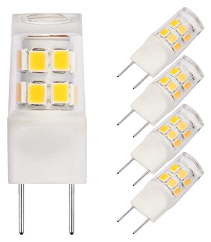 G8 LED Bulb, Bi Pin Base, 25W Halogen Bulb Replacement for Under ...
