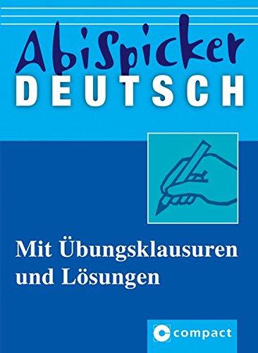 Abi-Spicker Deutsch
