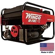 Portable Generator Bi-Fuel - Natural Gas & Gasoline Fired - 6 kW - 120/240V