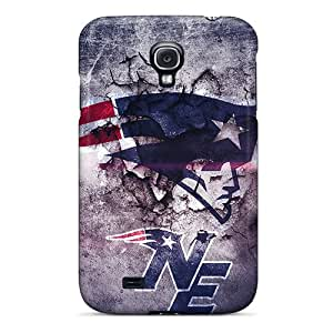 Shock-dirt Proof New England Patriots Design Covers For Galaxy S4