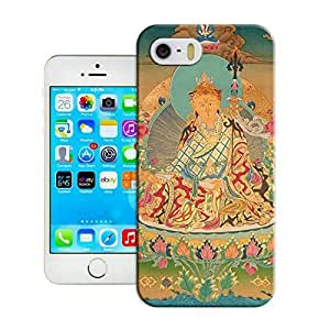 2014 High Quality iphone 5/5s Customizable Tibetan Book Case Cover For