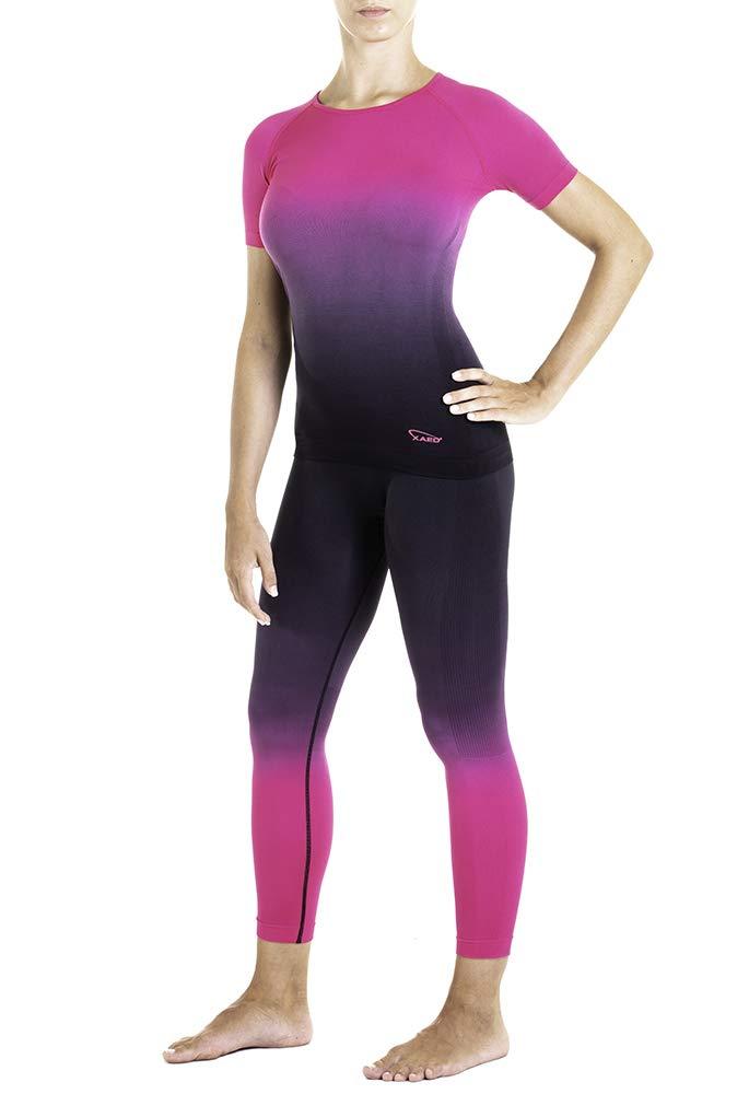 Maglia Sportiva Fitness Palestra Donna XAED I101079-001